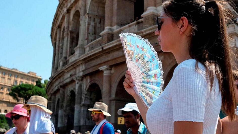 Alerta por la ola de calor en el sur de Europa