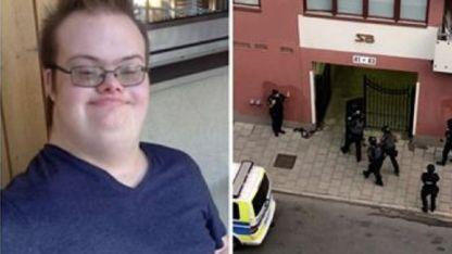 Eric Tornell (20) había escapado de su casa con un arma de juguete.
