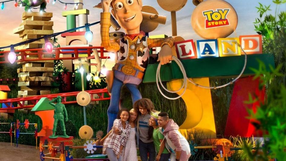 El mundo de Toy Story en Disney bdc3e9b655a