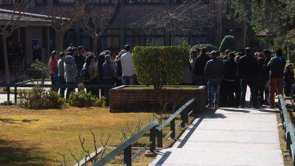 Los padres se presantaron el viernes en el colegio tras conocerse la denuica.