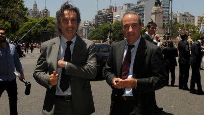 Angelo Calcaterra declaró ayer y quedó en libertad.