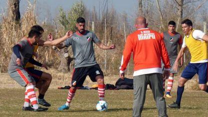 Nicolás Olmedo jugó en el primer partido.