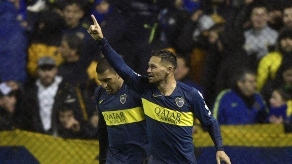 Boca le ganó a Libertad y sacó una buena diferencia para el partido de vuelta