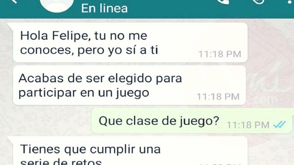 El peligroso juego viral de WhatsApp por el que casi muere un nene de 12 años en Río Negro
