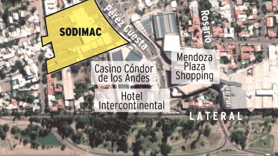 Aseguran que Sodimac seguirá avanzando en Guaymallén, pese a las quejas de vecinos