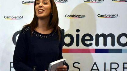 María Eugenia Vidal, acosada por la Justicia platense con un caso de difícil explicación.