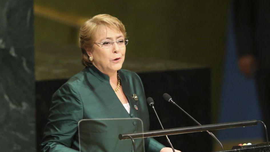 Designan a Bachelet alta comisionada de Derechos Humanos de la ONU