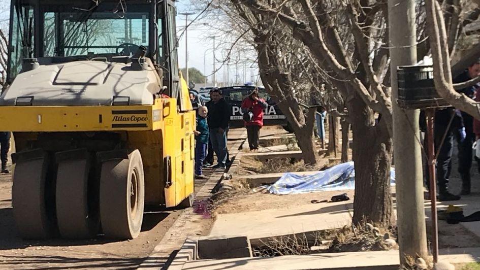 Una mujer de 48 años murió aplastada por una máquina vial en San Rafael