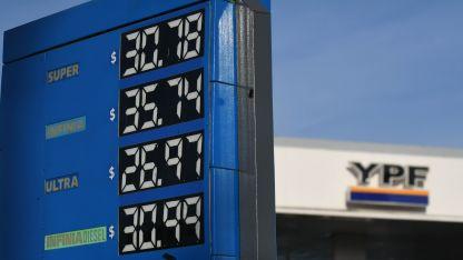 Sólo el diésel común se sigue vendiendo debajo de los $ 30.