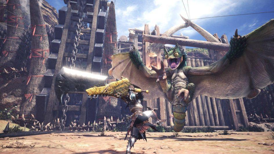 En sólo 24 horas, Monster Hunter World para PC bate récords en Steam