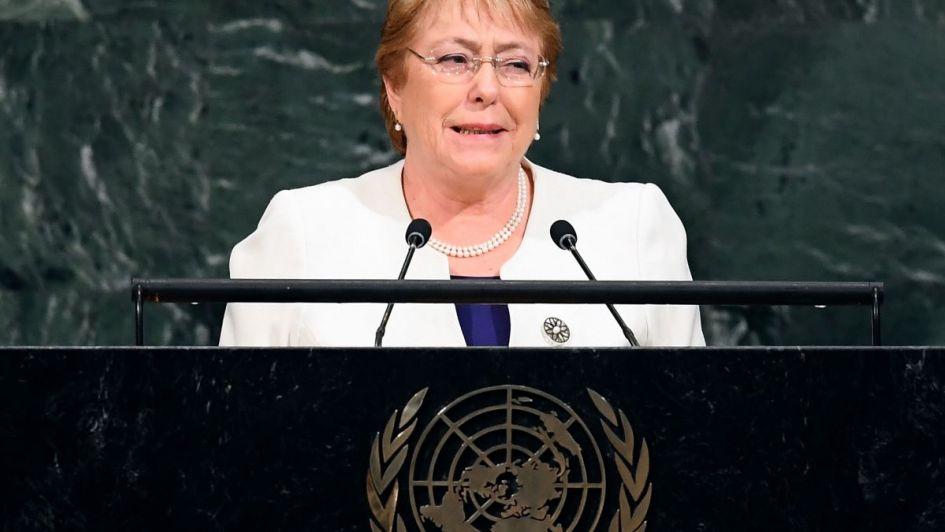 La Asamblea ratificó a Bachelet al frente de los DDHH de la ONU