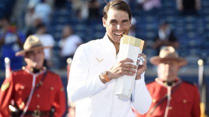 Nadal suma 80 títulos en su carrera profesional.