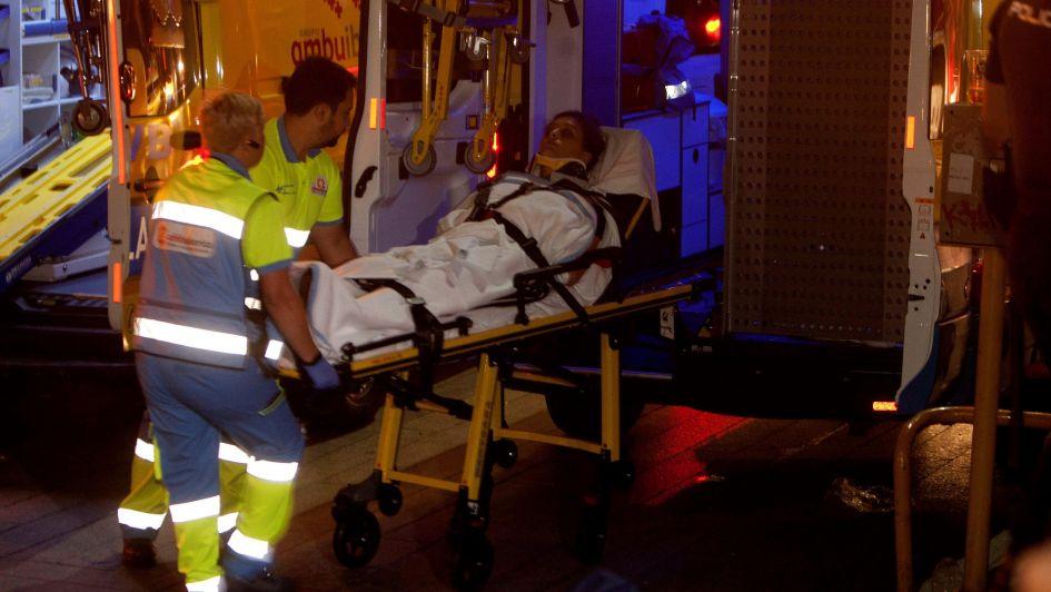 El desplome de una plataforma deja más de 300 heridos en Vigo
