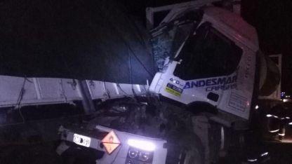 Por el accidente la ruta permaneció cortada.