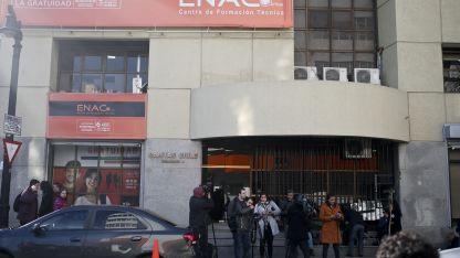 Los medios trasandinos dieron amplia difusión al allanamiento a la sede del Episcopado en Santiago.