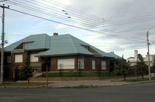 La casa de los Kirchner en la calle 25 de mayo y Maipu en Río Gallegos.