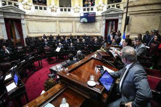La mayor parte de los ausentes fueron los senadores del panperonismo.