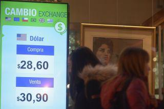 En Mendoza la cotización fue más alta y llegó a $ 30,90 al cierre.