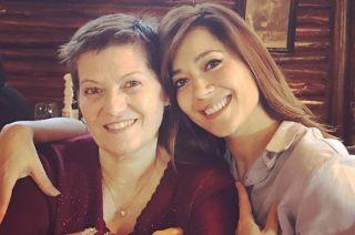 Gisela y su mamá Ana María.