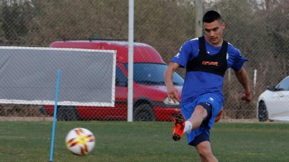 Henríquez estará desde el arranque ante Argentinos Juniors.