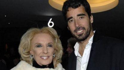 Nacho Viale y Mirtha Legrand