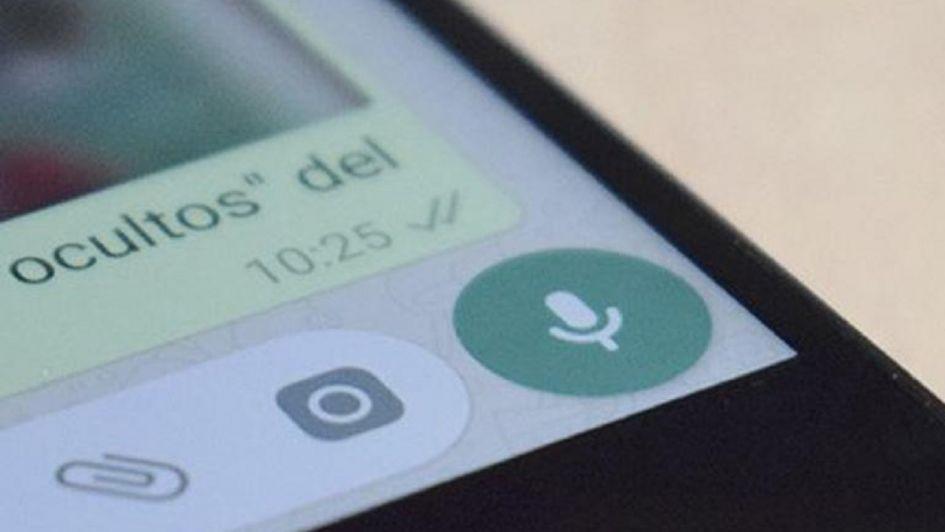 Así podés escuchar los audios antes de enviarlos — Truco Whatsapp
