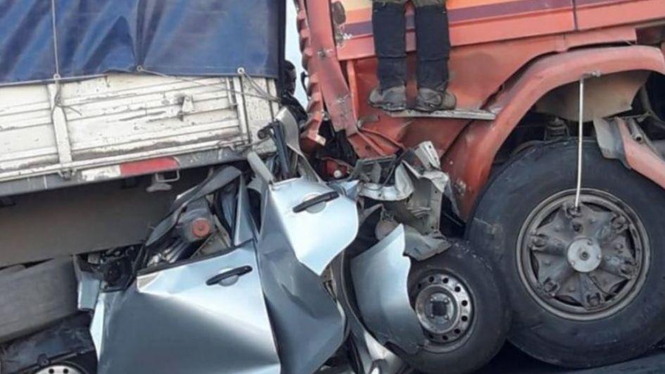 Los Andes: Al menos dos fallecidos deja accidente vehicular en Camino Internacional