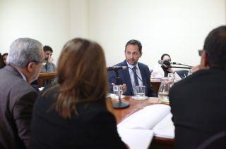 Fernando Fuentes, el oftalmólogo que hoy declaró en el juicio contra Julieta Silva.