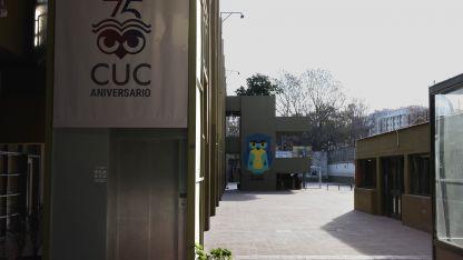 El colegio ubicado en la avenida San Martín ha visto alterada su vida los últimos días por el prolongado paro.