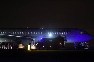 Un avión de Latam llegó a la aeroestación de Las Heras y se activó el protocolo de seguridad.