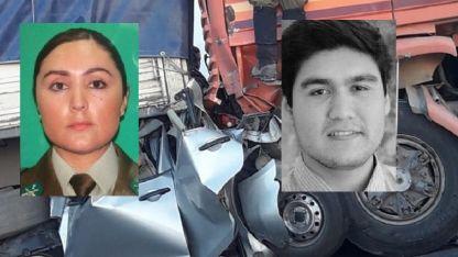 Amalia Andrea (30) y Luis Jesús Valdivia Santis (23), los hermanos fallecidos.