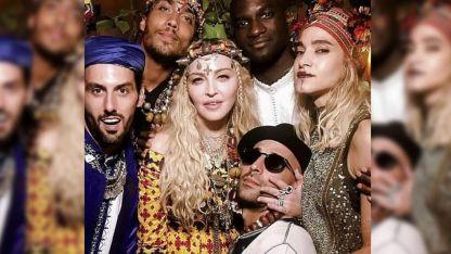 A los 60, en Marrakech.