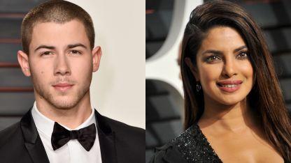 Nick Jonas y Priyanka Chopra.