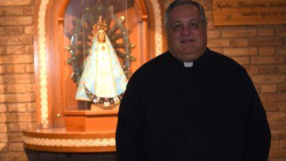 Marcelo Colombo acaba de asumir y ya visitó varias diócesis de la provincia.