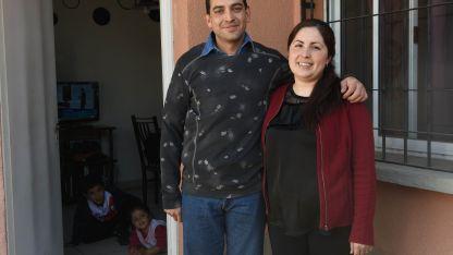Paula Barrionuevo convive con Facundo Bustamante en el barrio ATSA.