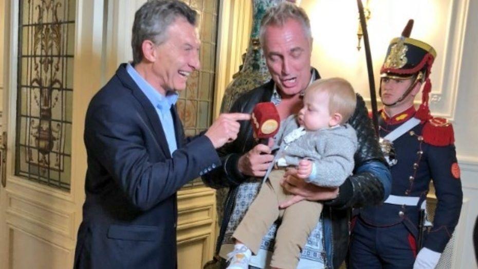 Así fue el encuentro entre Mirko y el presidente Macri