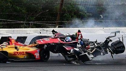 Impresionante accidente en el IndyCar