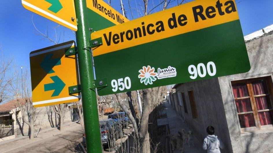 Las calles del barrio Minetto de Junín recuerdan a reconocidos vecinos