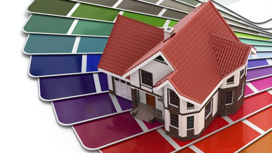 C mo elegir los colores para pintar tu casa for Colores para pintar una casa
