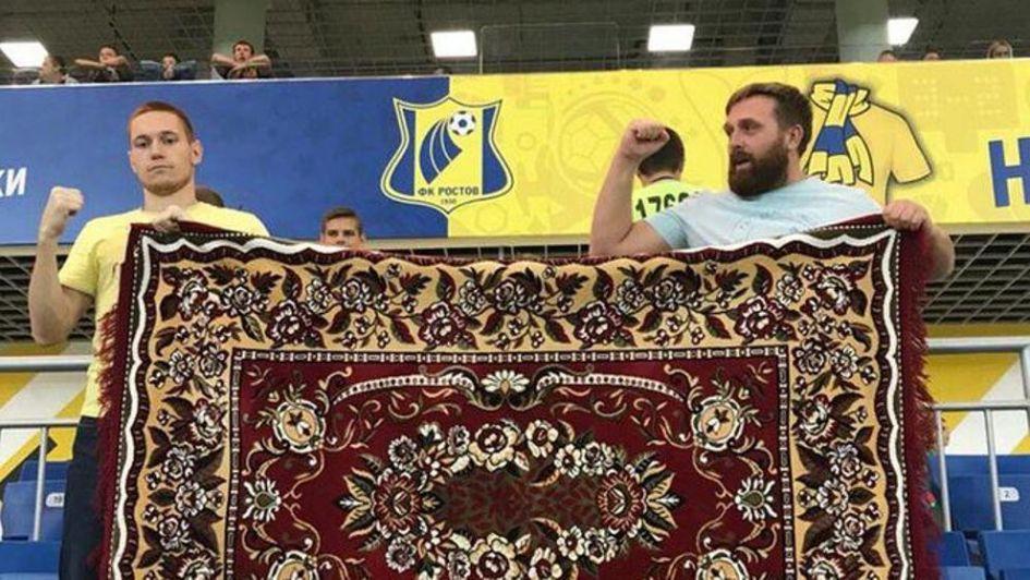 La alfombra que se convirtió en camiseta