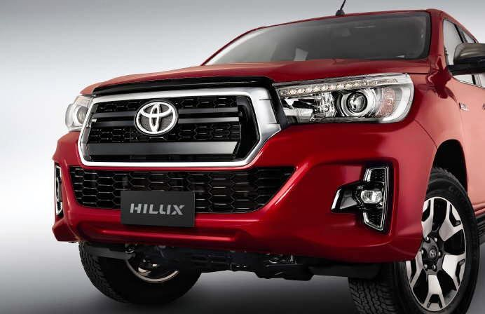 The Toyota Hilux 2019 has been updated