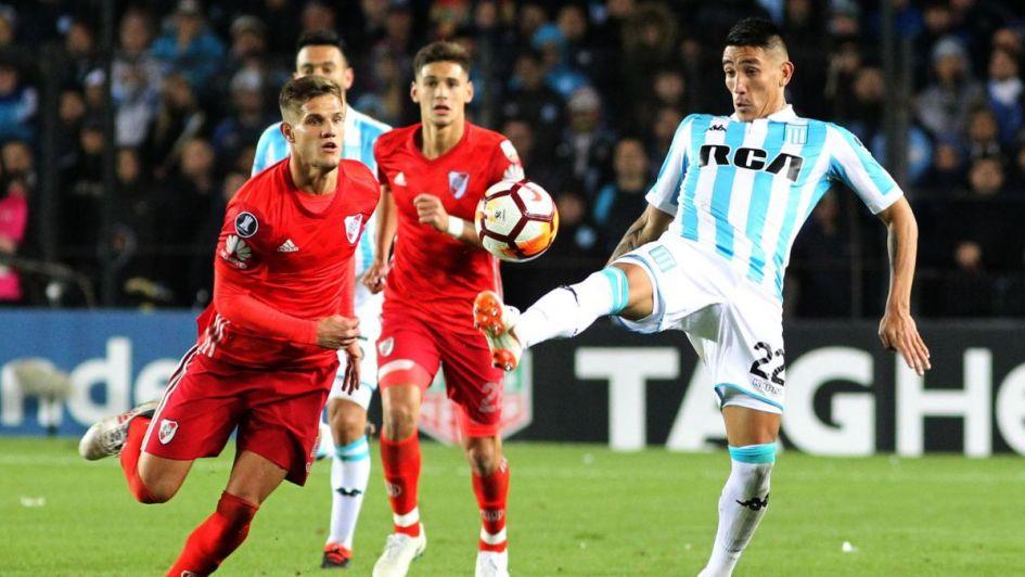 Santos-Independiente, suspendido por incidentes