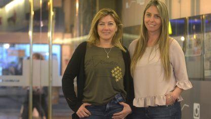 Carolina Frigerio y Nancy Sánchez de la Asociación de Mamis.