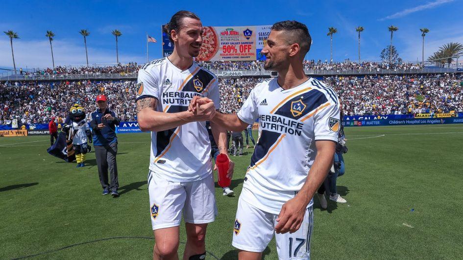 La MLS multa a Ibrahimovic por abofetear a un rival