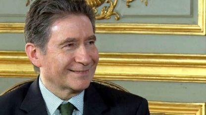 Guignard es embajador en nuestro país desde hace dos años.