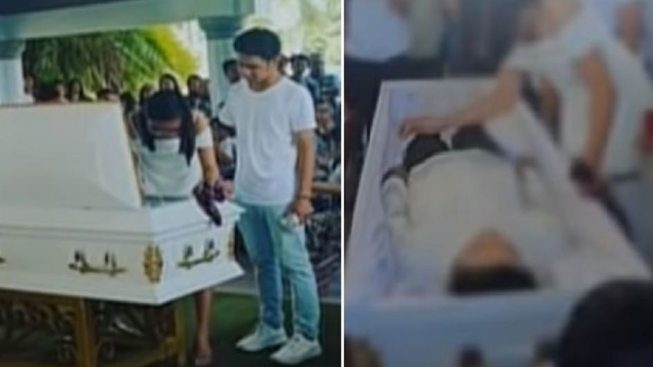 Resultado de imagen para Chica se casa con el cadáver de su novio en Filipinas
