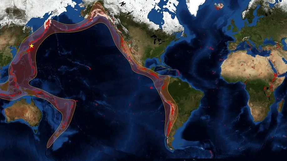La cadena de sismos en el Cinturón de Fuego del Pacífico enciende las  alarmas e291e8c62580