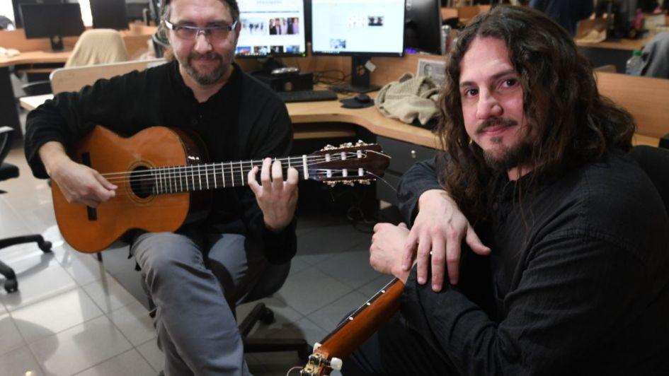 #VivoLA: el dúo Nuevo Cuyo adelantó su show en la redacción del diario