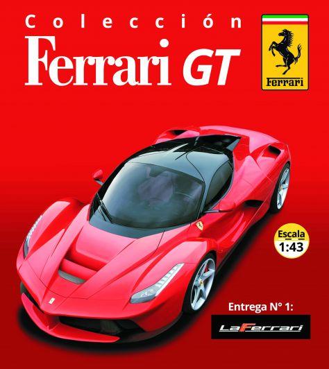 Espectacular lanzamiento: colección Ferrari GT