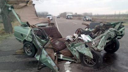 El conductor del camión fue detenido en Tunuyán, a la altura de Gendarmería.
